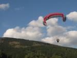 Paragliding lekce