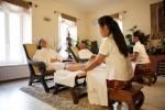 Thajská relaxační masáž chodidel
