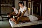 Královská olejová masáž pro dva